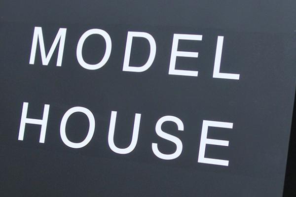 モデルハウス オリジナル A型看板