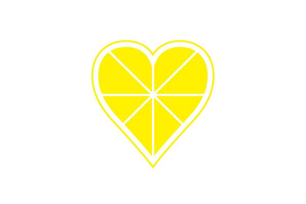 ハート レモン