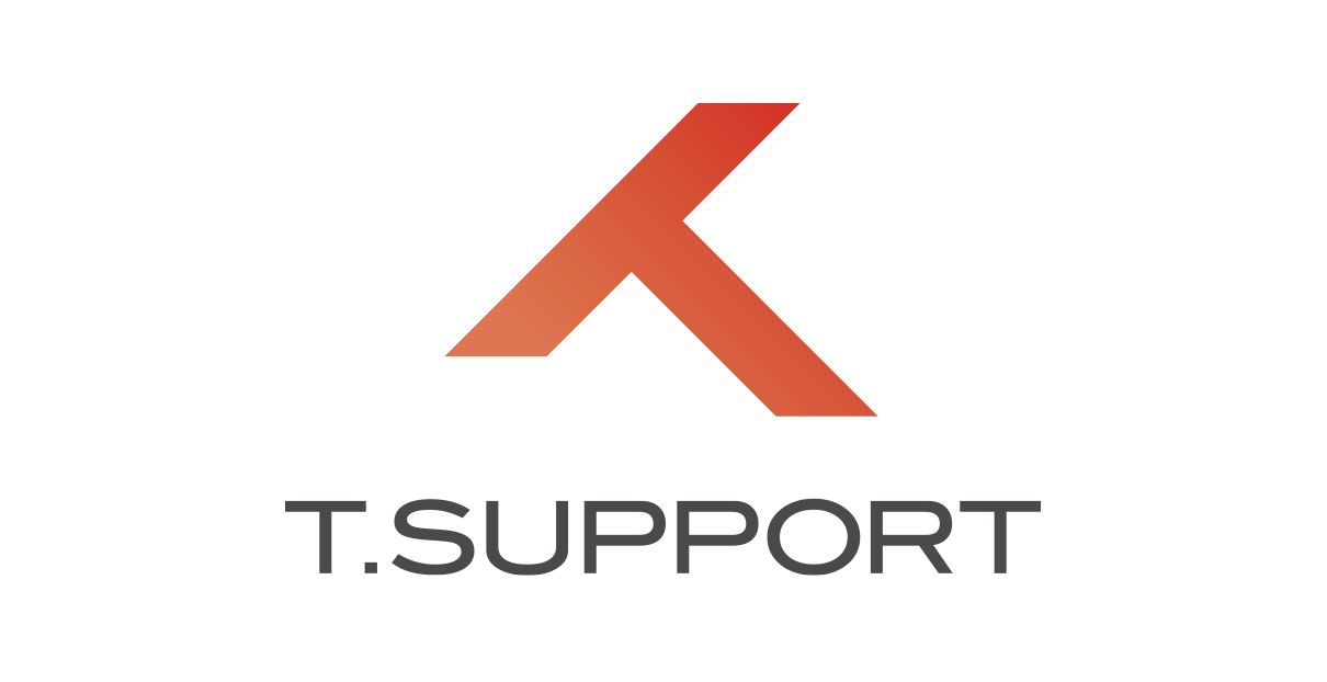 Tサポート ロゴ、スローガン
